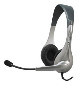 Cyber Acoustics Speech Headset w/ Boom Microphone